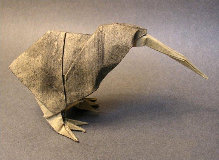 Origami Kiwi