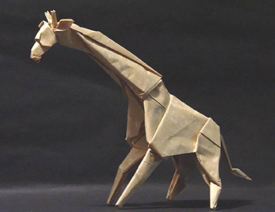 Оригами Жирафа