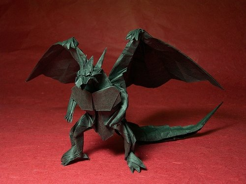 "Origami Dragon ""Bahamut"""