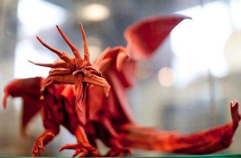 Origami Ancient Dragon