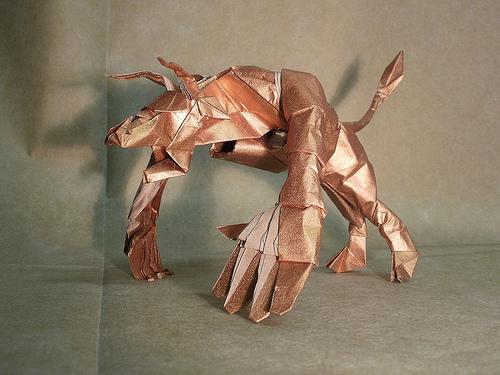 Оригами Минотавр