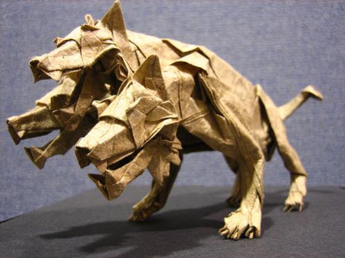 Оригами Цербер