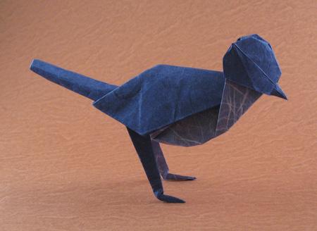 Оригами сойка