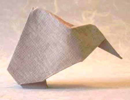Оригами киви