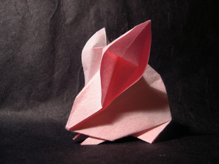 Оригами тушканчик