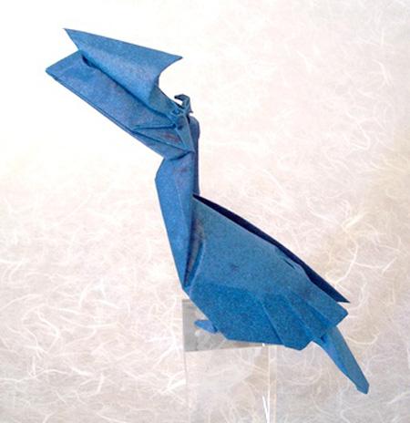 Оригами тукан