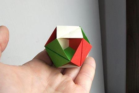 Оригами многогранник