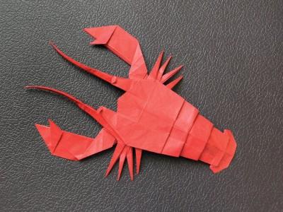 Оригами лобстер