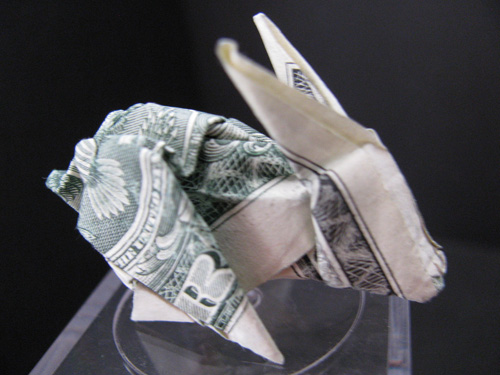 Moneygami rabbit