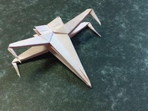Оригами космический корабль