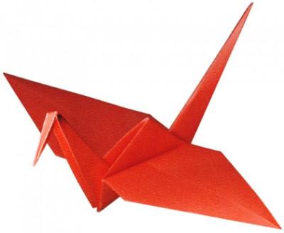 Пример журавлика