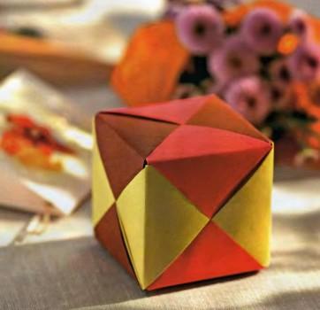 Кубик оригами