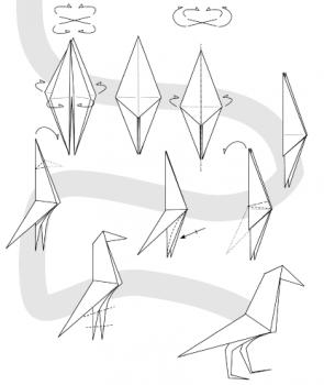 Схема сборки ворона вторая часть
