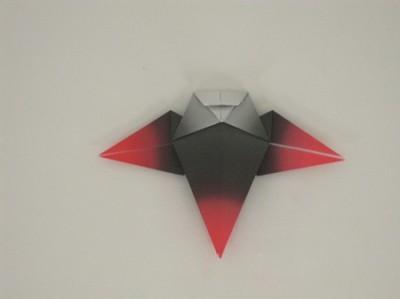 Оригами стилизованная сова
