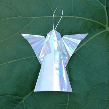 оригами ангелы вариант