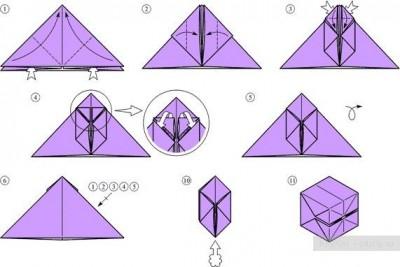 Схема сборки бомбочек
