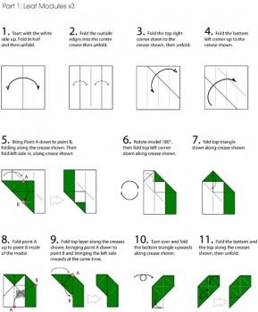 куб-роза схема часть 1