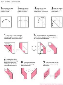 куб-роза схема часть 2
