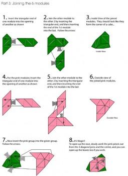 куб-роза схема часть 3