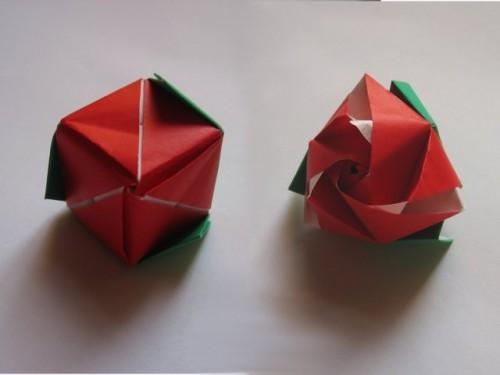 волшебный куб-роза