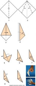 Схема из квадрата