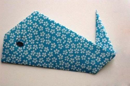 Кит оригами