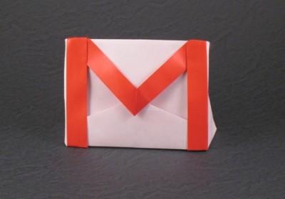 Gmail из бумаги