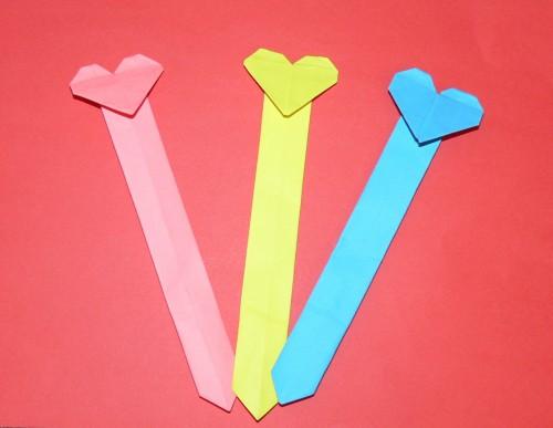 закладки оригами