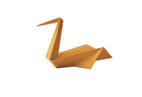 Оригами пеликан