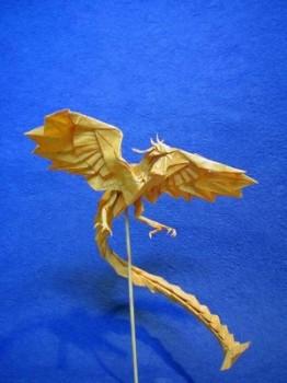 феникс оригами