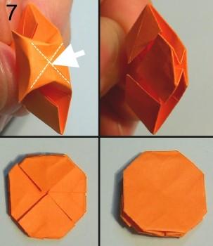 схема 7 оригами тюльпана