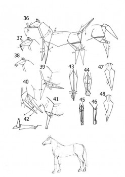 Лошадь схема часть6