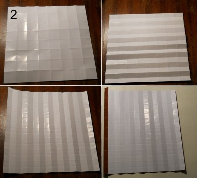ёжик оригами схема 2