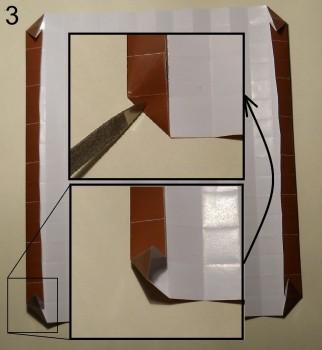 ёжик оригами схема 3