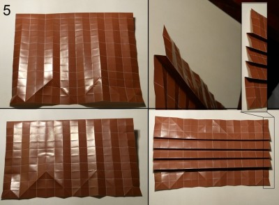 ёжик оригами схема 5
