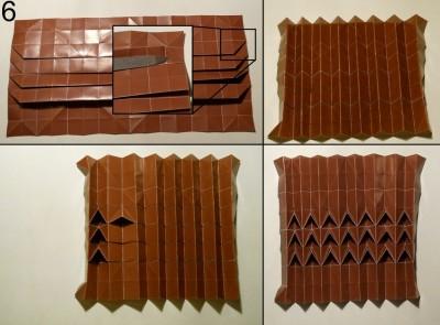 ёжик оригами схема 6