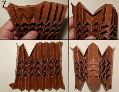 ёжик оригами схема 7