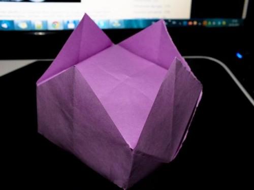 корона оригами