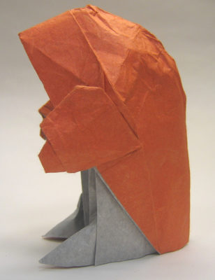 Монах оригами