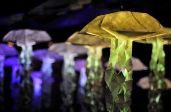 интерактивные медузы оригами