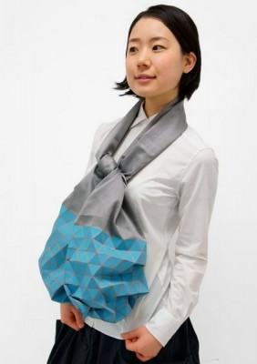Японский шарф-головоломка Kaku-Kaku 4