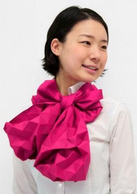 Японский шарф-головоломка Kaku-Kaku 5