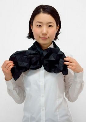 Японский шарф-головоломка Kaku-Kaku 6