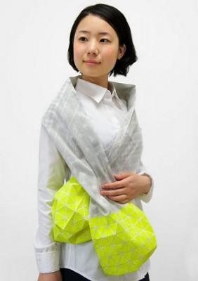 Японский шарф-головоломка Kaku-Kaku 8