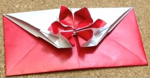 Конверт оригами