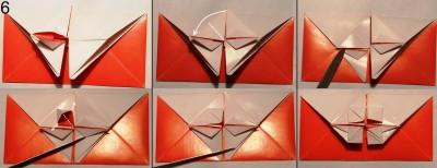 Схема конверта оригами 6