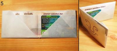 оригами кошелек схема 5