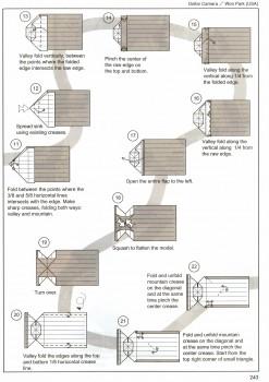 Фотоаппарат оригами схема часть 2