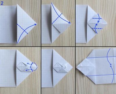 танк оригами абрамс схема 2