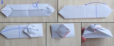танк оригами абрамс схема 3